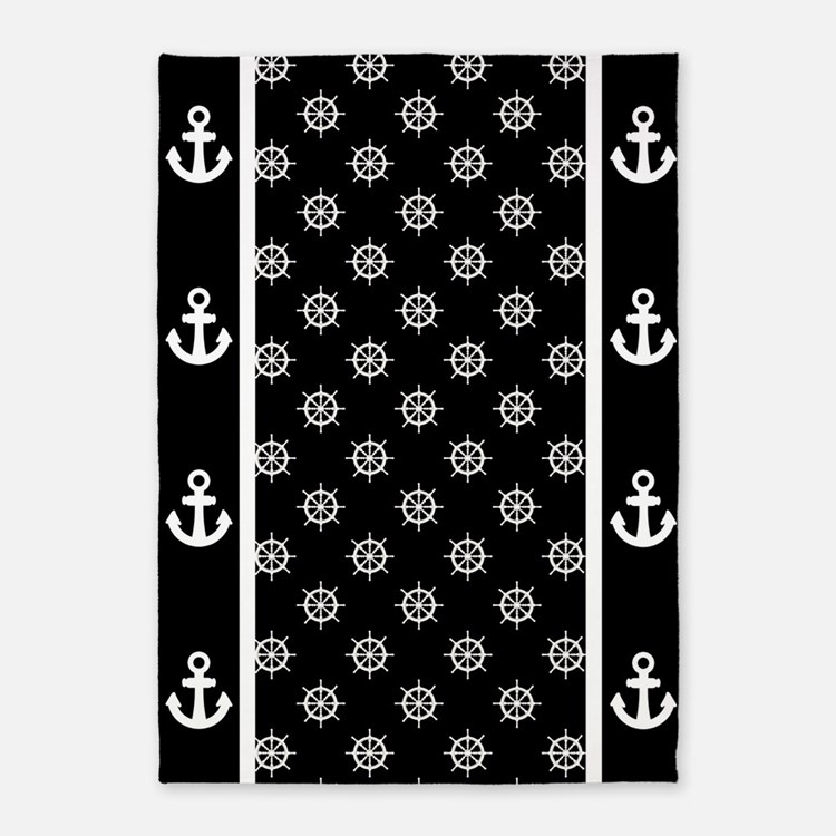 Anchor Rugs: Nautical Anchor Rugs, Nautical Anchor Area Rugs
