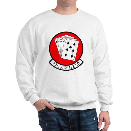 77th Fighter Squadron Sweatshirt