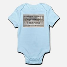 Deuteronomy 18:10 Body Suit
