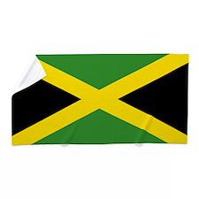 Jamaican Flag Beach Towel