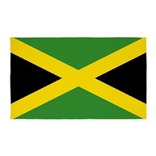 Jamaican Flag 3'x5' Area Rug