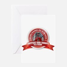 Red Friday Greeting Card