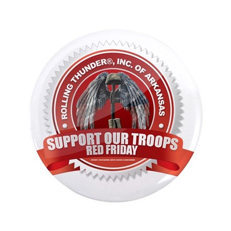 """Red Friday 3.5"""" Button"""