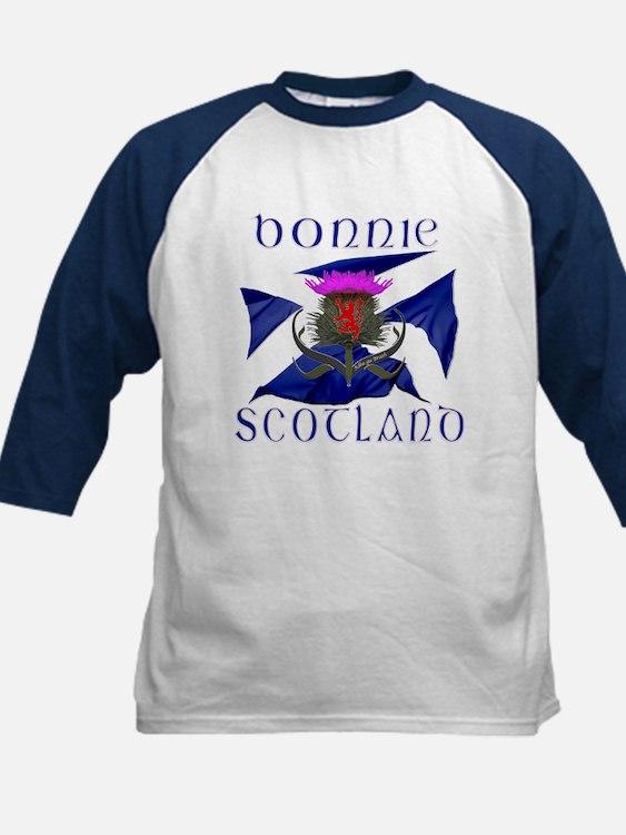 Bonnie Scotland flag design Baseball Jersey