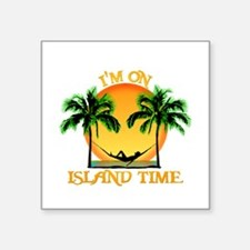 Island Time Sticker