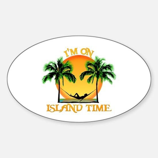 Island Time Decal