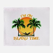 Island Time Throw Blanket