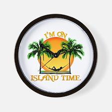 Island Time Wall Clock