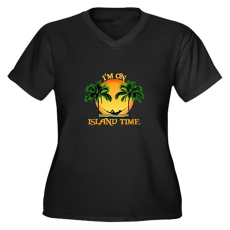 Island Time Plus Size T-Shirt