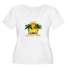 Island Time Plus Size T-Shirt