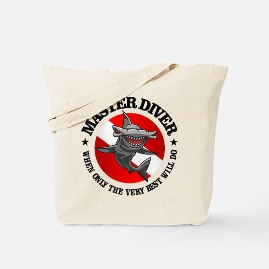 Master Diver (Hammerhead) Tote Bag
