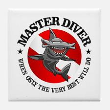Master Diver (Hammerhead) Tile Coaster