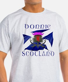 Bonnie Scotland flag design T-Shirt