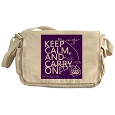 Keep Calm and Edit On Messenger Bag