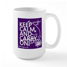 Keep Calm and Edit On Mug