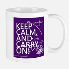 Keep Calm and Edit On Small Mug