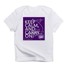 Keep Calm and Edit On Infant T-Shirt