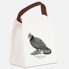Ruffed Grouse Canvas Lunch Bag