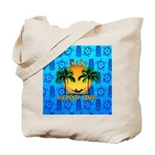 Island Time Tiki Tote Bag