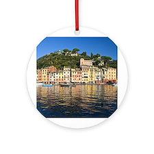 Unique Portofino Ornament (Round)