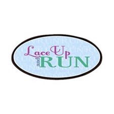 Lace Up and Run Patches