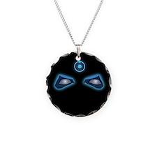 Dr. Manhattan Watchmen Neon Eyes Necklace