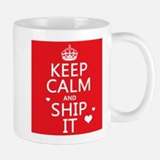 Keep Calm and Ship It (fandom) Small Small Small Mug