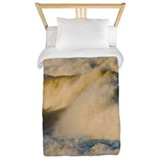 Storm Waves at the Beach Twin Duvet