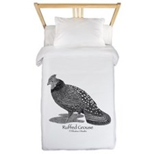 Ruffed Grouse Twin Duvet