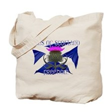 Sons of Scotland Freedom flag design Tote Bag