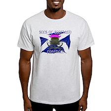 Sons of Scotland Freedom flag design T-Shirt