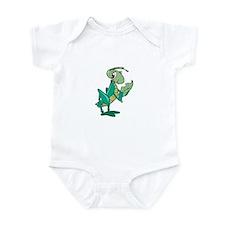 Grasshopper Eating Leaf Infant Bodysuit