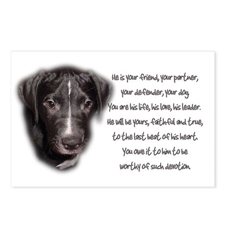 He is Your Dog Postcards (Package of 8)