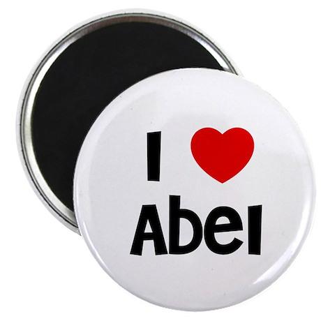 """I * Abel 2.25"""" Magnet (10 pack)"""