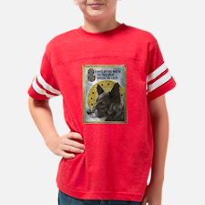 3-10x10MuttsCorrectedDark Youth Football Shirt