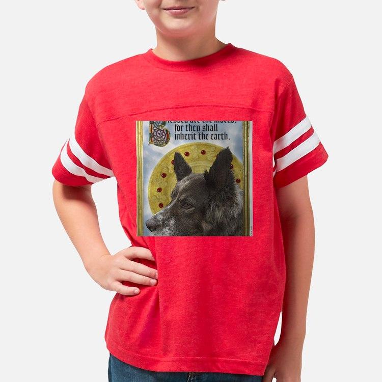 12x12MuttsCorrected Youth Football Shirt