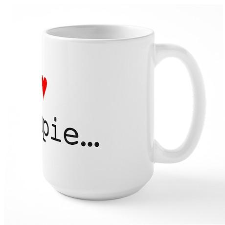 I love Creampie Large Mug