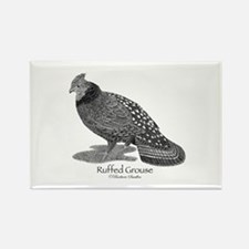 Ruffed Grouse Rectangle Magnet