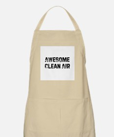 Awesome Clean Air BBQ Apron
