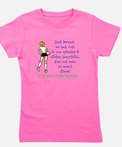 You have been warned! Girl's Tee