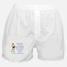 You have been warned! Boxer Shorts