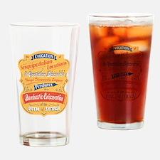 Sesquipedalian Locutions II Drinking Glass