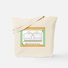 ... Hares Tote Bag
