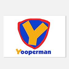 YooperMan Postcards (Package of 8)