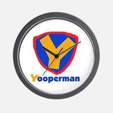 YooperMan Wall Clock