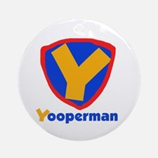YooperMan Ornament (Round)