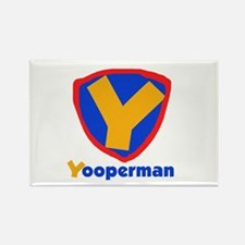 YooperMan Rectangle Magnet