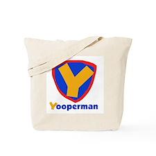 YooperMan Tote Bag