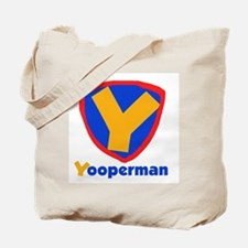 YooperMan Tote Bag