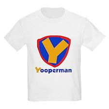 YooperMan Kids T-Shirt